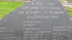 Newbury bombing memorial