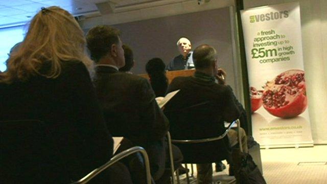 Envestors presentation evening