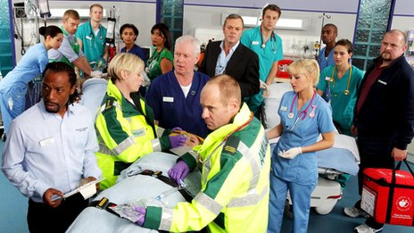 Cast of Casualty