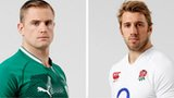 Ireland captain Jamie Heaslip and England counterpart Chris Robshaw