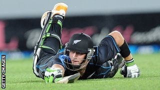 New Zealand's Martin Guptil