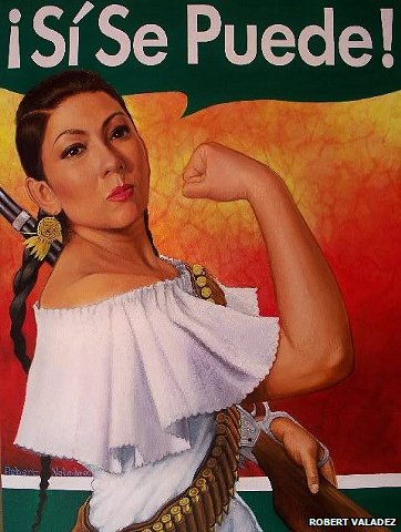 Mexican interpretation of Rosie the Riveter