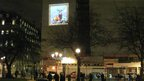 Monarch of the Glen, projected onto the Grand Hotel