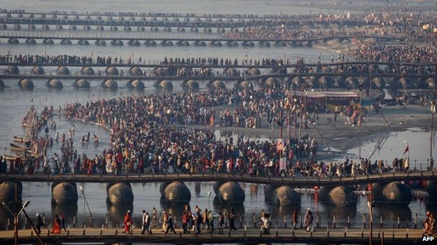 Kumbh Mela set for holiest day