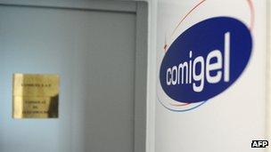 Comigel's office in Metz. France