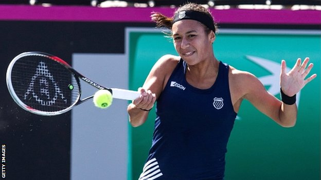 British number one Heather Watson