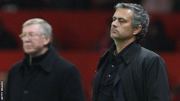 Sir Alex Ferguson Jose Mourinho