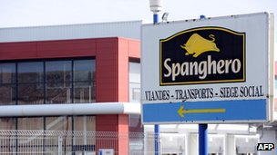 The Spanghero factory in France