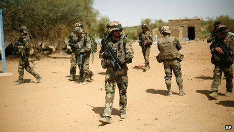 French troops in Gao (10 February 2013)