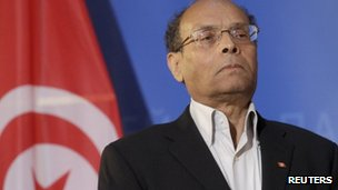 Tunisian President Moncef Marzouki, 6 February