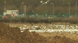 Newton Longville landfill site