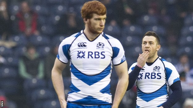 Rob Harley and Greig Laidlaw performed well for Scotland