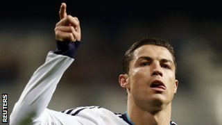 Manchester United must try to stop Real Madrid's Cristiano Ronaldo on Wednesday