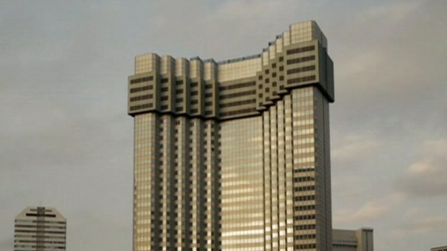 Tower block in Tokyo