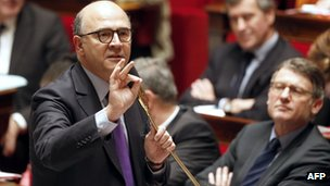 French Finance Minister Pierre Moscovici