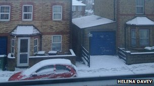 Snow in Headington