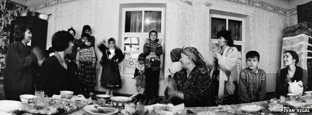 Dushanbe, Tajikistan, 1999, from White Road by Ivan Sigal