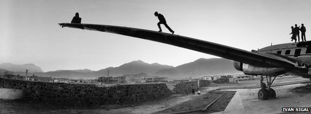 Kabul, Afghanistan, 2002, from White Road by Ivan Sigal