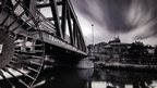 Trafford Swing Bridge by Bill Ward