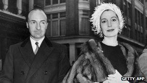 John Profumo and his wife, Valerie Hobson