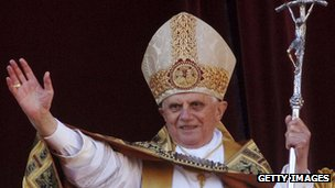 Pope Benedict XVI on Christmas Day 2006