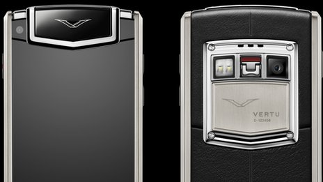 Vertu Ti phone