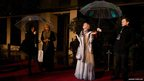 British actress Helen Mirren poses as she arrives for the Bafta after party in London