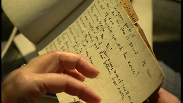 Lawrence Olivier's script