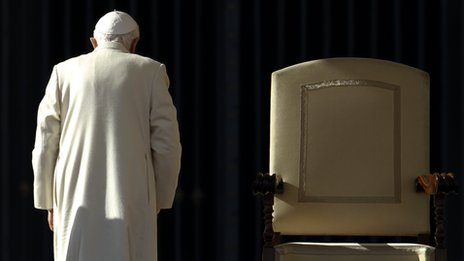 Irish tributes paid to outgoing Pope