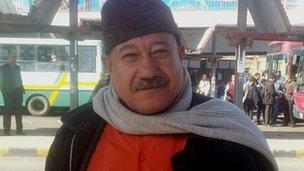 Mostafa Ismael, 54, bus driver