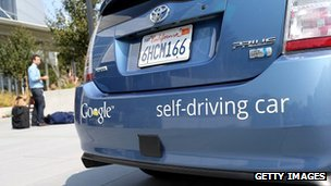 Google's self-drive car