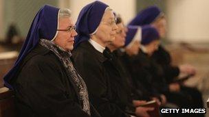 Nuns in Berlin, Germany