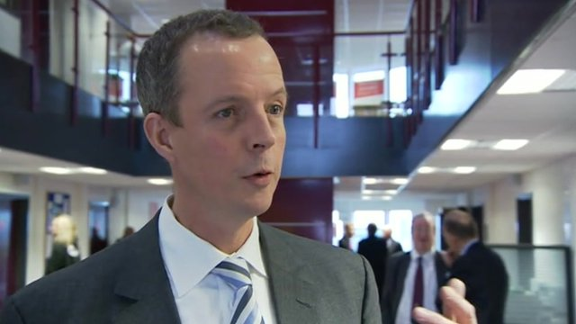 Communities minister Nick Boles