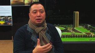 Xu Lin, entrepreneur in Prato