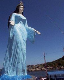 Yemanja statue, Vitoria, Brazil  Photo: Manuel Toledo