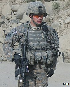 US Army handout image of former Army Staff Sgt Clinton Romesha