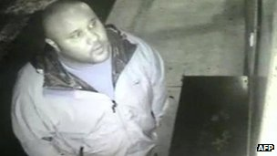 Recent image released by Irvine Police in California on 8 February 2013 shows suspect Christopher Dorner