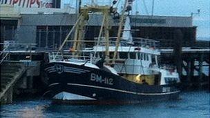 Brixham Trawler Beam