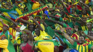 Ethiopia's fans were the best Nations Cup fans the BBC's Alex Capstick has ever seen