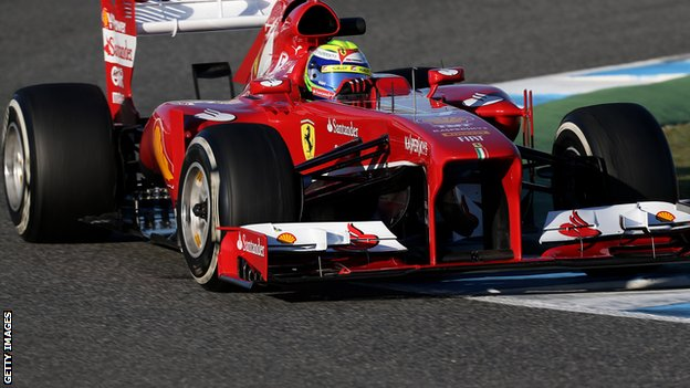 Ferrari&#039;s Felipe Massa