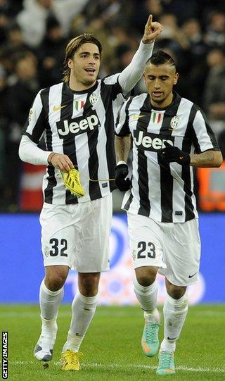 Juventus's Alessando Matri