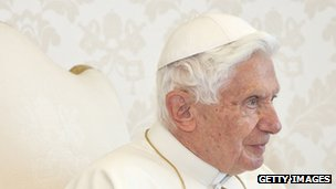 Pope Benedict XVI will step down at the end of the month