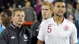 Stuart Pearce and Steven Caulker
