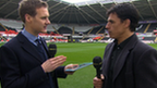 Dan Walker and Chris Coleman