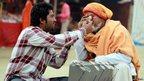 Two men at Kumbh Mela. Photo: Anurag Juyal