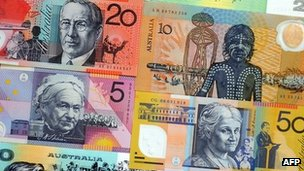 Australia bank notes