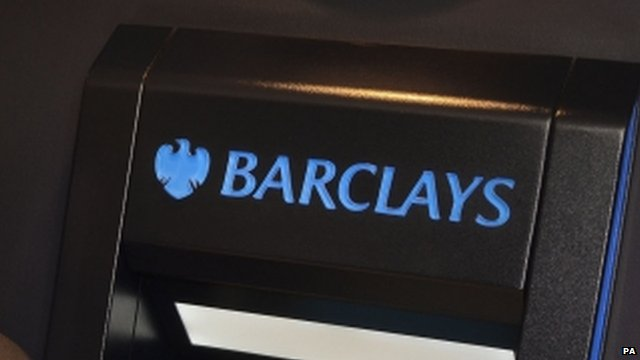 Barclays cash point