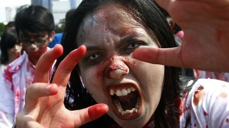 Indonesia&#039;s Zombie walk 