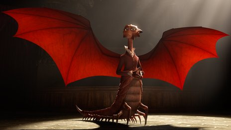 Mirren plays Dean Hardscrabble, headmistress of Monsters University.