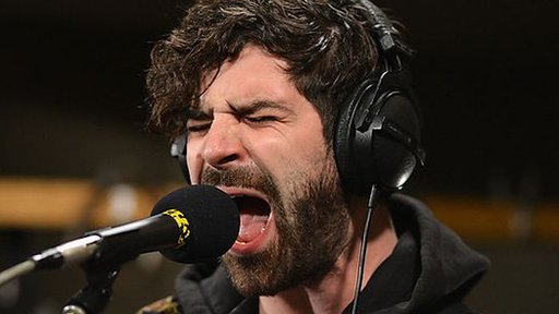 Yannis Philappakis from Foals